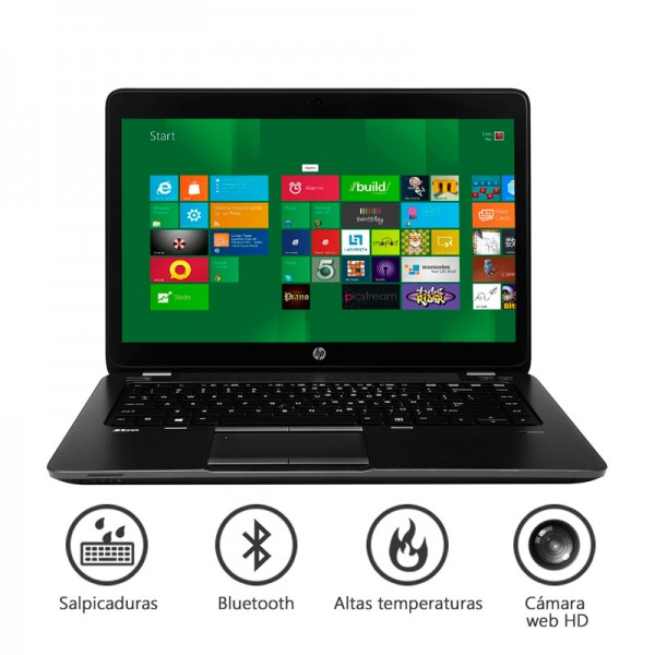 "Laptop HP ZBook 14 Workstation Intel Core i5 4300M 1.9GHz vPro, RAM 8GB, HDD 320GB, Video 1GB FirePro M4100,14.0"" Full HD, Win 8 Pro"