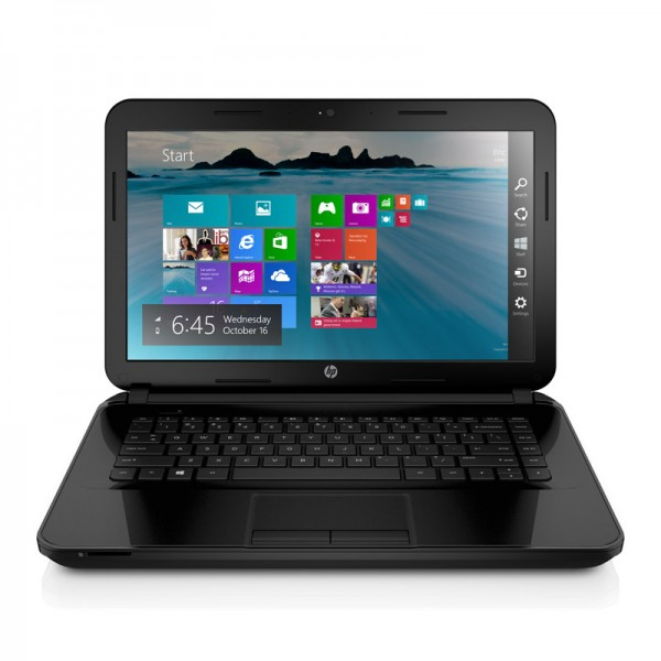 "Laptop HP 14-w002la AMD Dual Core E1-2100 1.0GHz, RAM 2GB, HDD500GB, LED 14.0"", Win 8.1"