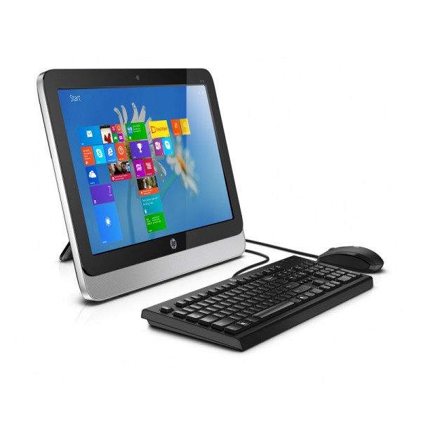 "PC Todo En Uno HP 18 5202la, AMD E1-6010 1.35 GHz, RAM 4GB, HDD 500GB, DVD SuperMulti, LED 18.5""HD, Windows 8.1"