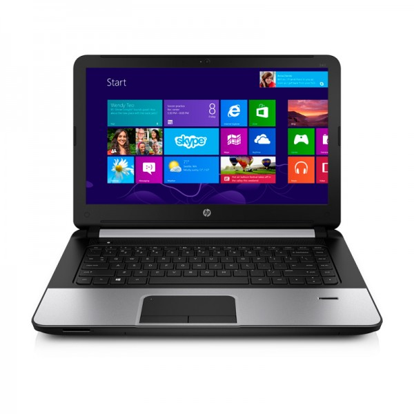 "Laptop HP 340 G1 Intel Core i5-4200U 1.6GHz, RAM 4GB, HDD 750GB, DVD, LED 14.0"" HD , Windows 8.1"