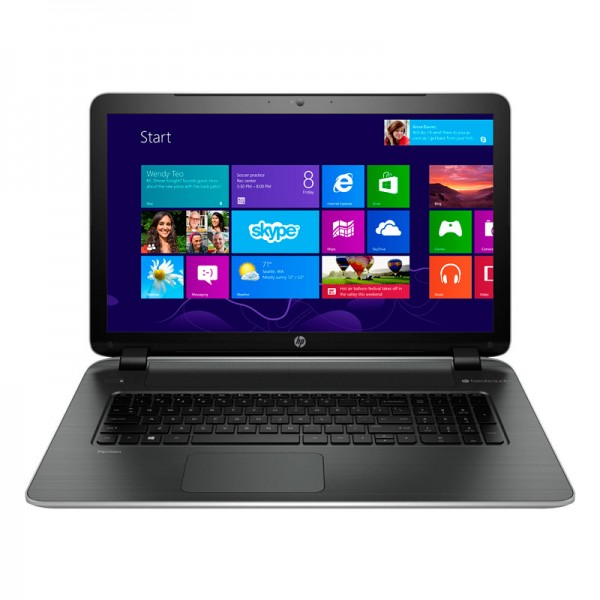 "Laptop HP Pavilion 17Z-F100-Y2R6 AMD Quad Core A6 6310 1.80 GHz, RAM 8GB, HDD 1TB, Video 2GB, DVD, 17.3"" HD , Windows 8.1"
