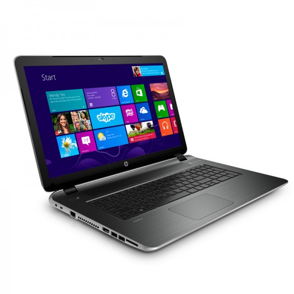 "Laptop HP Pavilion 17Z-Y5HL AMD Quad Core A4 5000 1.50 GHz, RAM 6GB, HDD 750GB, DVD, 17.3"" HD , Windows 8.1"