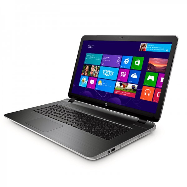"Laptop HP Pavilion 17Z-F100-Y2QC AMD Quad Core A8 6410 2.0 GHz, RAM 8GB, HDD 750GB, Video 2GB, DVD, 17.3"" HD , Windows 8.1"