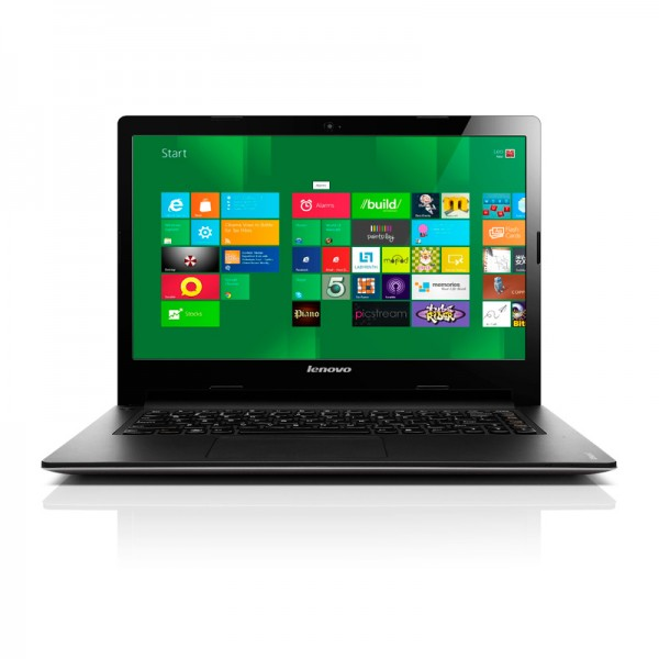 "Laptop Lenovo IdeaPad S400  Intel Core i3 3217U 1.8GHz, RAM 4GB, HDD 500GB, 14""HD, Win 8 Pro"