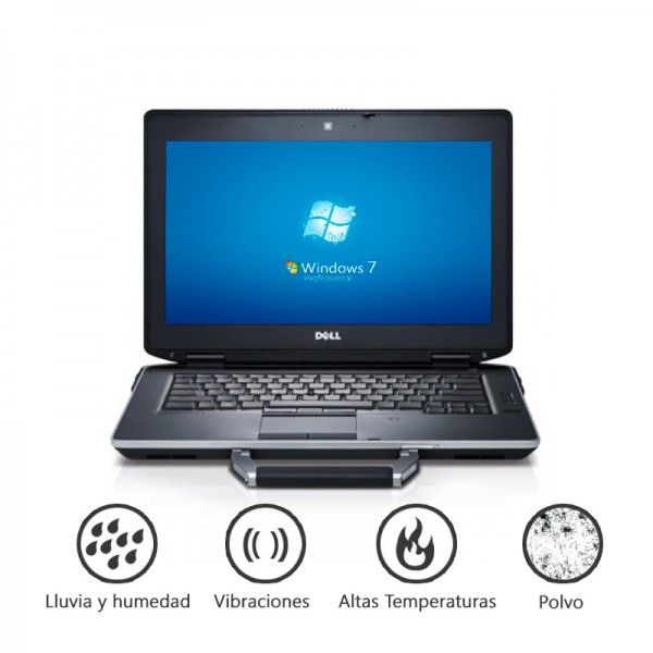 "Laptop Dell Latitude E6430 ATG RUGGED ""Special Editión""  Intel Core i5-3230M 2.6GHz, RAM 8GB, SSD 256GB, DVD, 14.""HD Touch , Win 7 Pro"