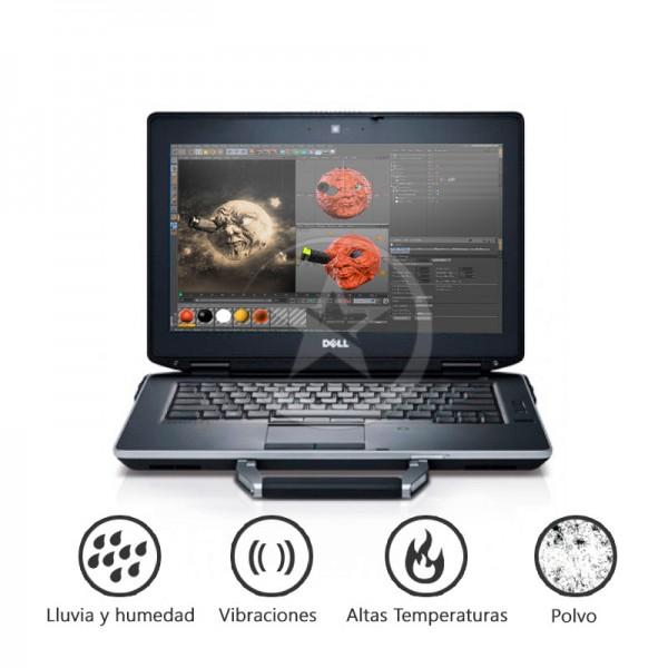 "Laptop Dell Latitude E6430 ATG RUGGED Intel Core i5-3340M 2.7GHz, 8GB, SSD 256GB, DVD, 14.""HD Touch , Win 7 Pro"