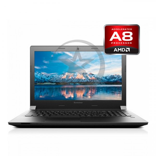 "Laptop Lenovo B41-35 AMD Quad-core A8-7410 2.20GHz, RAM 4GB, HDD 500GB, DVD, 14"" HD"