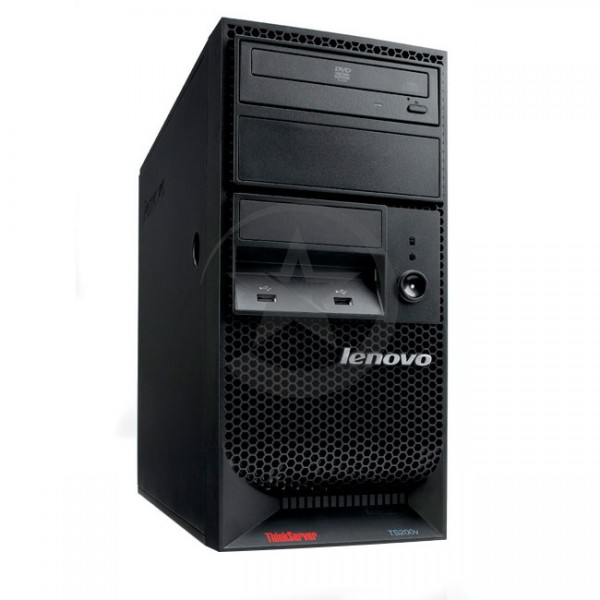 Servidor Lenovo ThinkServer TS200V Intel Xeon X3450 2.67GHz, RAM 8GB, HDD 2TB, Video Quadro FX380, DVD, Torre