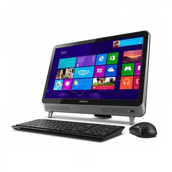 "PC Todo en Uno Toshiba Touch LX830-01Q Core i5-3230M 2.6GHz, RAM 8GB, HDD 1TB, DVD, LED 23"" Touch Full HD, Windows 8"