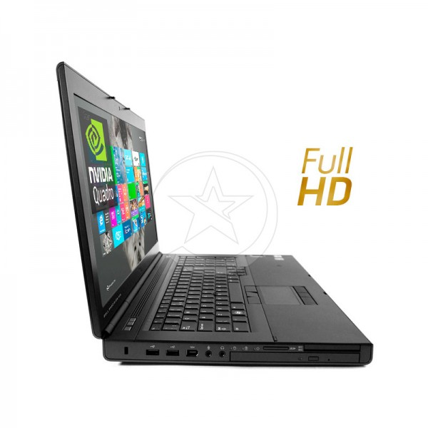 "Laptop Dell WorkStation Precision M6800 Intel Core i7 4710MQ 2.5GHz, RAM 32GB, HDD 1TB + SSD 480GB, Quadro K4100M 4GB, DVD, 17.3"" Full HD, Windows 8.1 Pro"
