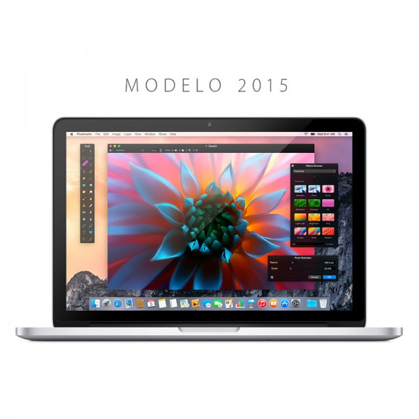 "Apple MacBook Pro Retina  Intel Core i7 2.5Ghz, RAM 16GB, SSD 512GB, Video 2GB ddr5, 15.6"" QHD Retina, OS X (Nuevo modelo 2015)"