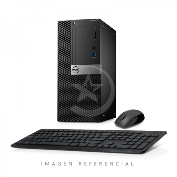 CPU Dell OptiPlex 7040 Torre Intel Core i5 6500 3.2 GHz(vPro), RAM 8GB, SSD 256GB, DVD, Windows 10 Pro