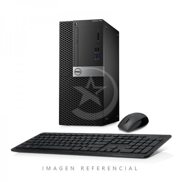 CPU Dell OptiPlex 7040 Torre Intel Core i5 6500 3.2 GHz(vPro), RAM 8GB, HDD 500GB, DVD, Windows 10 Pro
