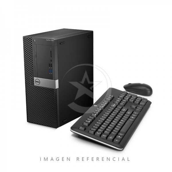 CPU Dell OptiPlex 7040 Minitorre Intel Core i7 6700T 2.8 GHz, RAM 8GB, SSD 512GB, DVD, Win10 Pro