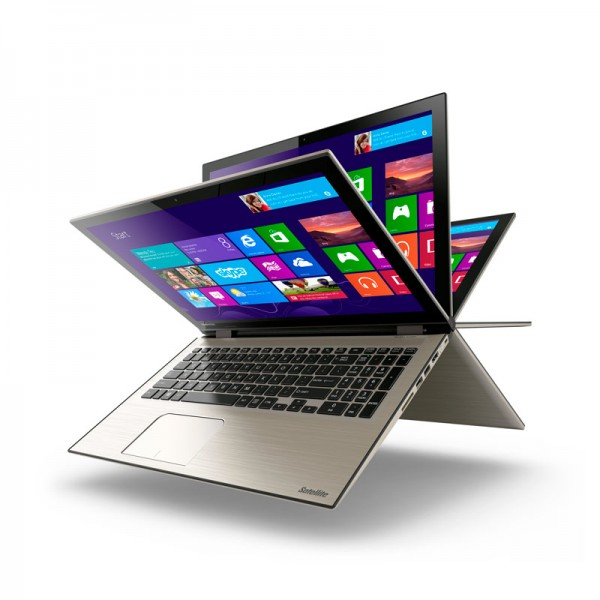 "Convertible Toshiba Satellite Radius P55W-C5208-4K  Intel Core i7-5500U 2.4 GHz, RAM 8GB, HDD 1TB, LED 15.6"" UHD-4K Touch, Win 8.1"