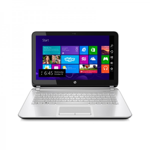 "Laptop HP Pavilion 14-N207la, AMD A8 4555M 1.60GHz, RAM 8GB. HDD 500GB, DVD, LED 14"" HD, Win 8.1"
