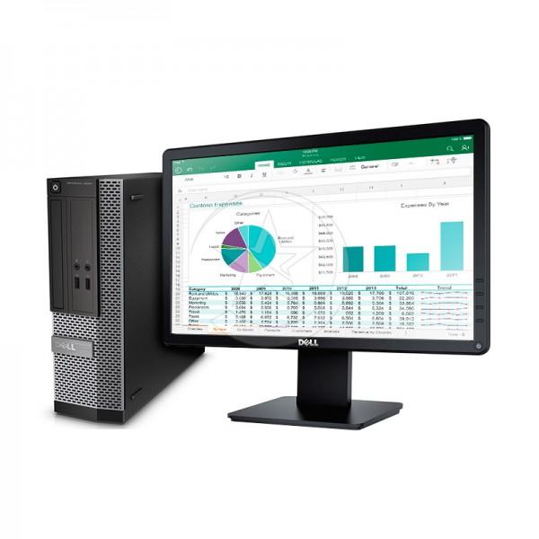 "PC Dell OptiPlex 3020 SFF Intel Core i5 4590 3.3GHz, RAM 8GB, HDD 1TB, DVD+RW, Windows 8.1 Pro (Box)  + Monitor LED 18.5"""