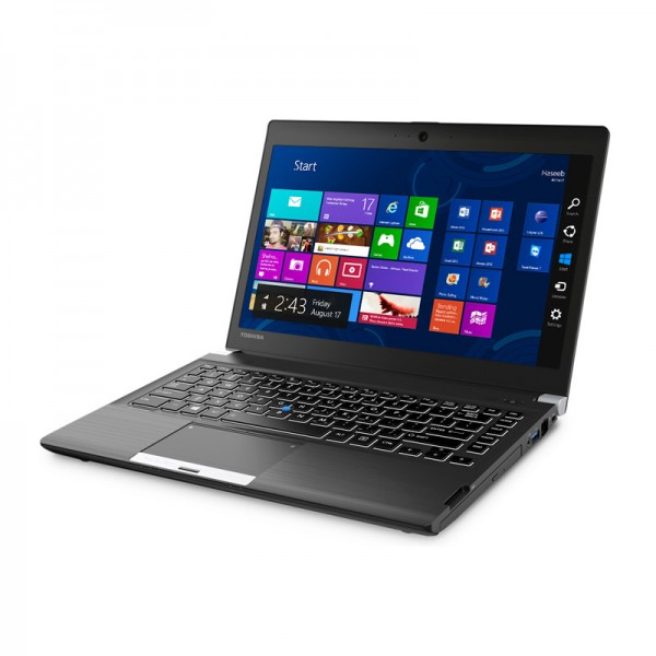 "Laptop Toshiba Portege R30-A3102L, Intel Core i5-4300M 2.6Ghz, RAM 4GB, HDD 750GB, DVD, LED 13.3""HD, Win 8.1 Pro"