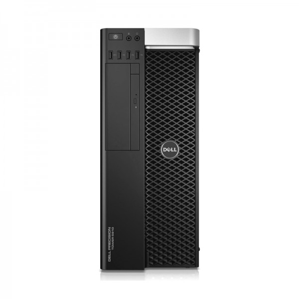 PC Dell WorkStation Precision T5810 Xeon® Ten-Core E5-2650 v3 2.3GHz, RAM 32GB ECC, HDD 2 TB + SSD 480GB, Video Quadro K2200 4GB ddr5, DVD, Windows 8.1 Pro