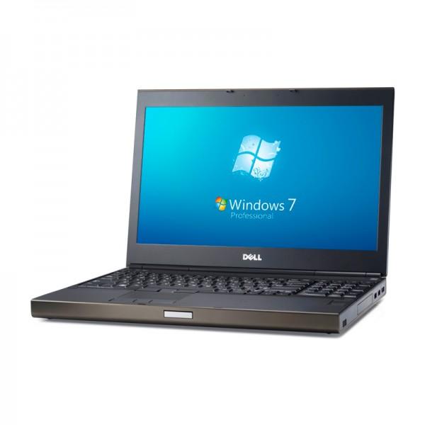 "Laptop Dell WorkStation Precision M4800 Intel Core i7 4700MQ 2.4GHz, RAM 16GB, HDD 500GB, Video 2GB Quadro K2100, DVD, 15.6""HD Win7 Pro"