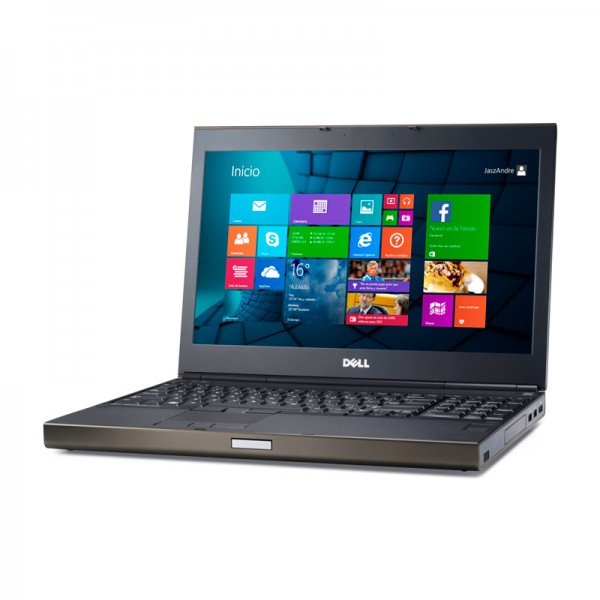 "Laptop Dell WorkStation Precision M4800 Intel Core i7 4600M 2.9GHz(vPro), RAM 16GB, SSD 128GB, NVidia Quadro K1100M 2GB, 15.6"" Full HD UltraSharp, Windows 8 Pro"