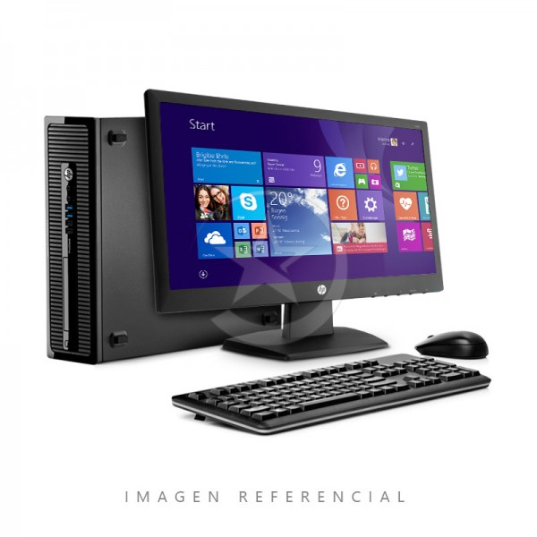 "PC HP ProDesk 400 G1 Intel® Core™ i3-4130 3.4GHz, RAM 4GB, HDD 500GB, DVD + Monitor HP 18.5"", Windows 8.1"