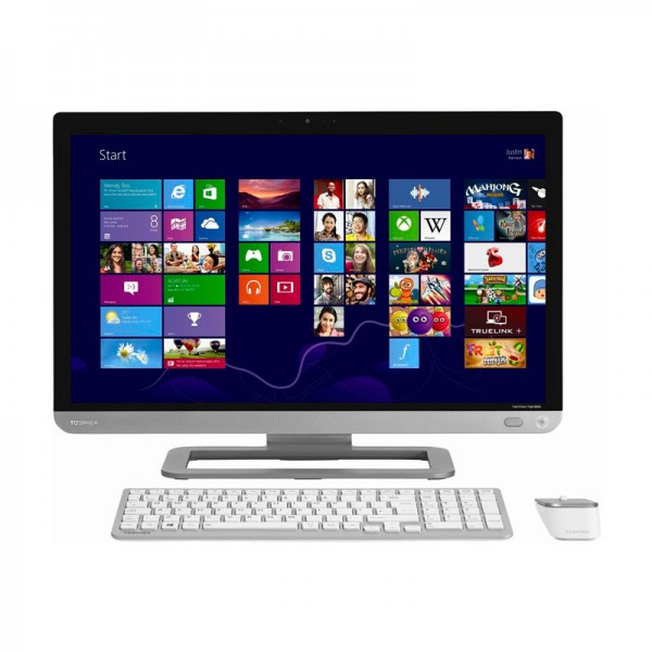 "PC Todo en Uno Toshiba PX30T-01E ""Luxury"" Core i5-3230M 2.6GHz, RAM 16GB, HDD 2TB, DVD, LED 23"" Touch Full HD, Windows 8"