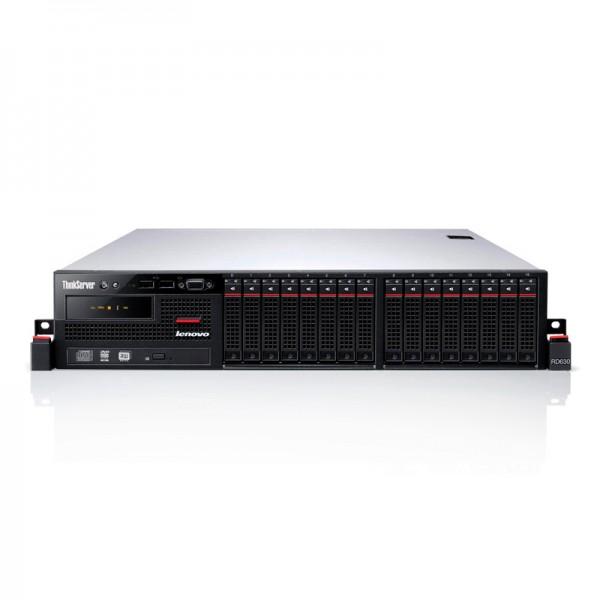 Servidor Lenovo ThinkServer RD630 Intel Xeon Processor E5-2660 (8 nucleos, 20M Cache, 2.20 GHz, 8.00 GT/s Intel® QPI) - 2u Rack+ 02 Discos 600GB 10K SAS+ RAM 16GB ECC