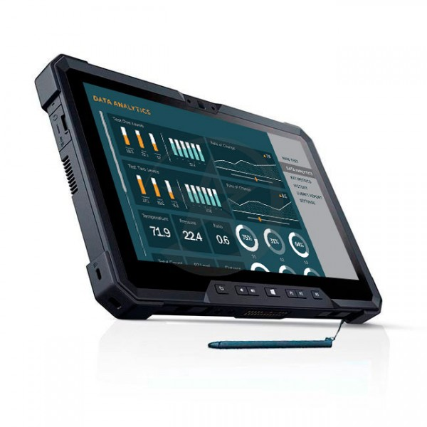 "Tablet industrial Dell Latitude 12 Rugged ""Robustecida"" Intel® Core™ M-5Y71 1.2GHz, RAM 8 GB, SSD 128GB, LED Touch 11.6"" IPS, Doble camara, Windows 10 Pro"
