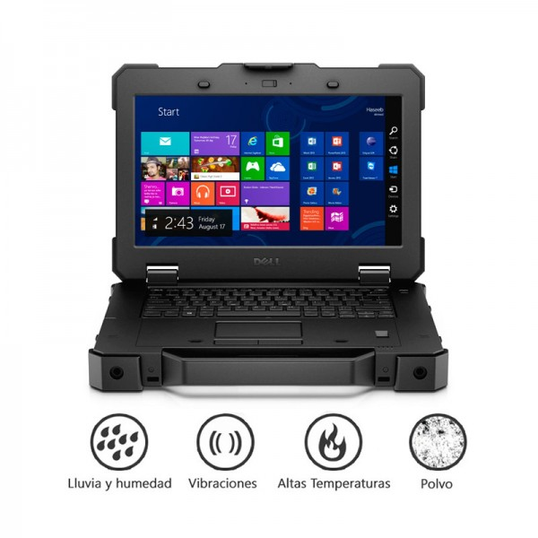 "Laptop Dell Latitude 14 RUGGED EXTREME ""Limited Edition""  Intel Core i5-4300U 1.9GHz vPro, RAM 8GB, SSD 256GB, DVD, 14"" HD Touch, Win 8.1 Pro"