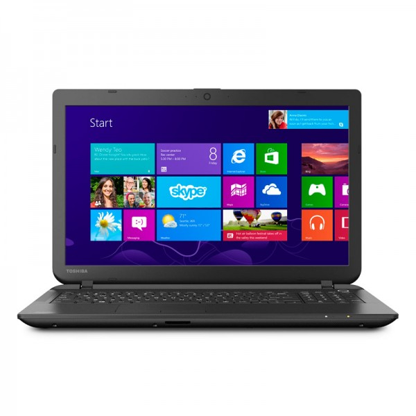"Laptop Toshiba Satellite C55-B5300 Intel Dual Core N2840 2.16GHz, RAM 4GB, HDD 500GB, DVD, 15.6""HD, Win 8.1"