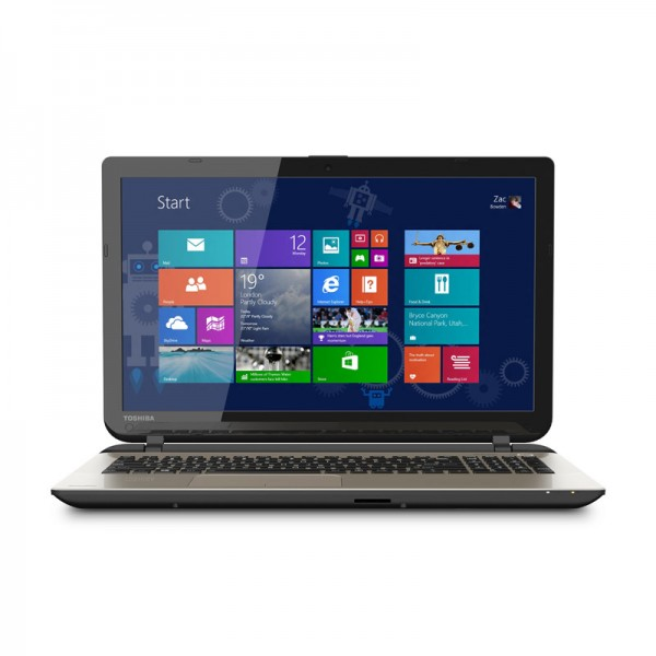 "Laptop Toshiba Satellite L55-B5192SM, Intel Core i3-4005U 1.70GHz, RAM 4GB, HDD 750 GB, DVD, LED 15.6"" HD, Windows 8.1 Pro"