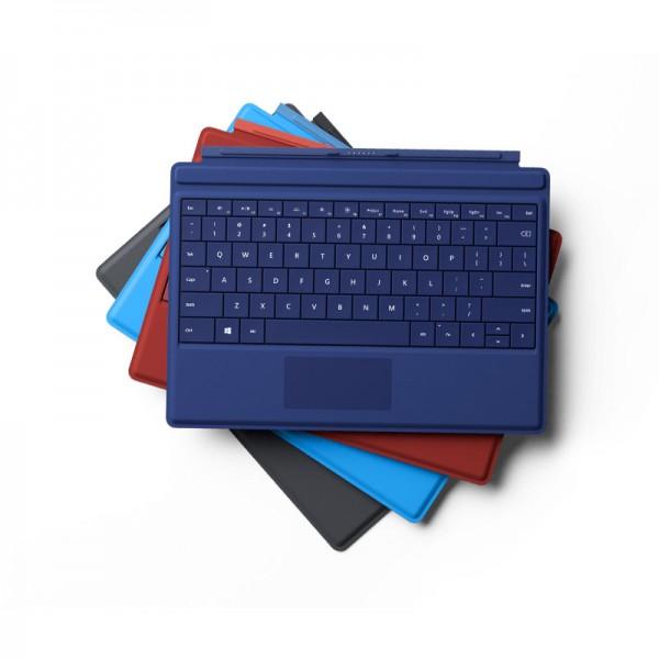 Funda con Teclado para Microsoft Surface Pro 3, QWERTY, Retroiluminación teclas