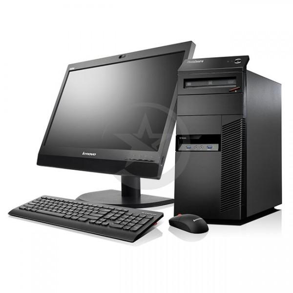 """PC Lenovo ThinkCentre M83  Intel Core i7 4770 3.4GHz, RAM 8GB , HDD 1TB, Video 1 GB, DVD, Win 8.1 Pro + Monitor Lenovo E2054 20"""""""