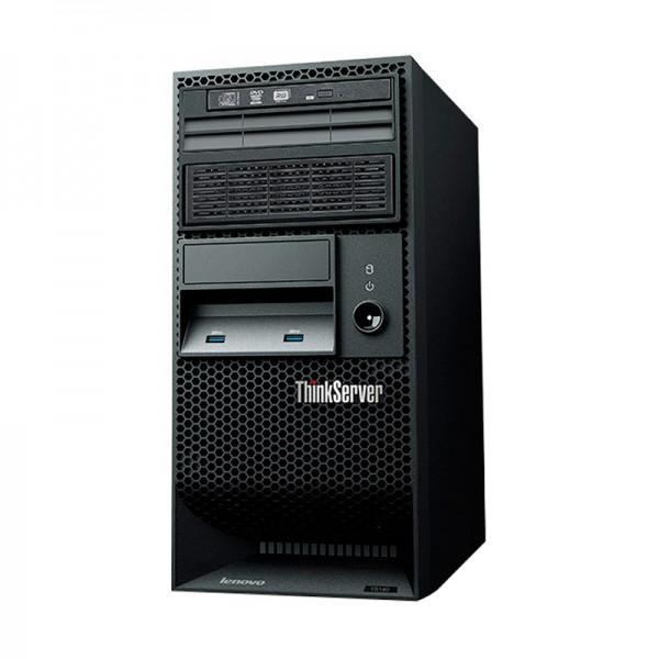 Servidor Lenovo ThinkServer TS140  Intel Xeon Processor E3-1246 v3 (8M Cache, 3.50 GHz), RAM 8GB DDR3, HDD 2TB SATA, DVD+RW, 4U Torre