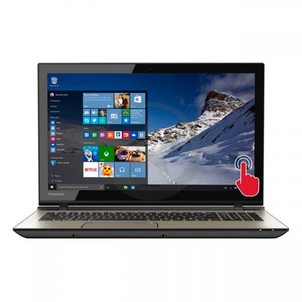 "Laptop Toshiba Satellite Touch S55T-C5222, Intel Core i7-4720HQ 2.6GHz, RAM 16GB, HDD 1TB, DVD, 15.6"" Full HD Touch, Windows 10"
