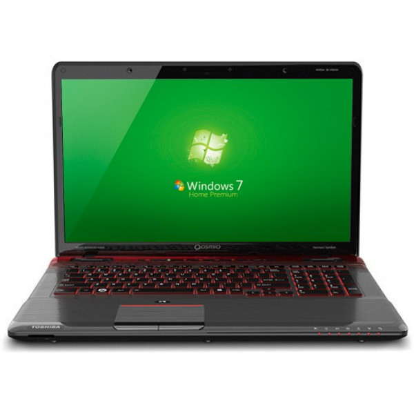 "Laptop Toshiba Qosmio X775-Q7272 Intel Core i7-2630QM 2.0GHz, RAM 8GB, HDD 1.5TB, Video 1.5GB GTX 560, Bluray, 17.3"" Win 7"