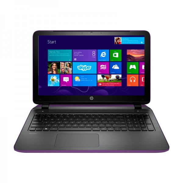 "Laptop HP Pavilion TouchSmart 15T P100-Y2NF Intel Core i7-4510U 2.0 GHz, RAM 12GB, HDD 1TB , DVD, Video 2GB , 15.6"" Full HD Touch, Windows 8.1 Neon Purple"