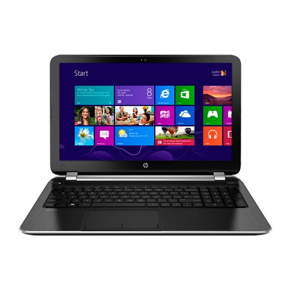 "Laptop HP Pavilion 15-N001LA (E7H97LA) AMD Quad-Core A6-5200 2,0GHz, RAM 8GB, HDD 500GB, AMD HD 8670M 1GB, 15.6"" HD, Windows 8"