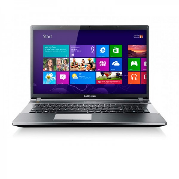 "Laptop Samsung NP550P5C-S02VE Core i7-3630QM 2.4GHz, RAM 8GB , HDD 1TB, Video 1GB, Bluray ,15.6""HD, Win8"
