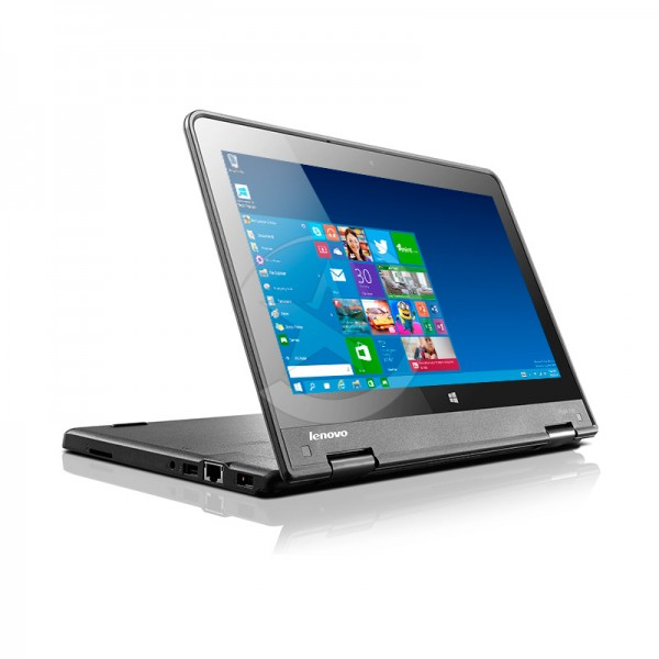 Convertible ThinkPad Yoga 11e 2-IN-1, Intel Core™ M-5Y10, RAM 4Gb, HDD 500 Gb, LED 11.6'' HD Giratoria Touch, Win10 Pro