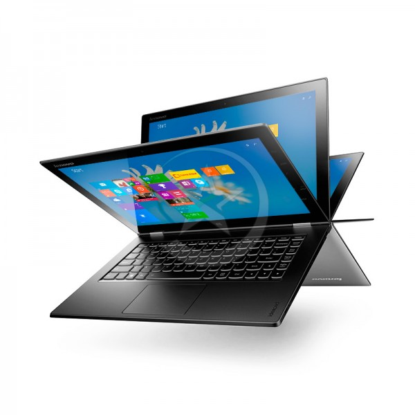 "Convertible Lenovo Yoga 2 Pro, Intel Core i7-4510U 2.0GHz, RAM 8 GB, SSD 256 GB, LED 13.3"" UHD (3200x1800) Touch, Windows 8.1"