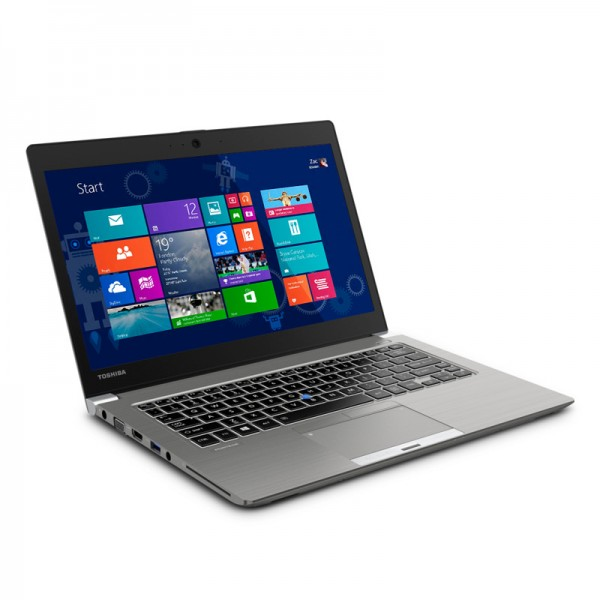 "Laptop Toshiba Portégé Z30-A3201L, Intel® Core™ i7-4600U 2.1GHz vPro, RAM 8GB, SSD 256GB, LED 13.3"" HD, Win 8.1 Pro"