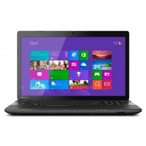 "Laptop Toshiba Satellite C75D-A7102, AMD Quad-Core A6-5200M 2.0GHz, RAM 4GB, HDD500GB, DVD, 17.3""HD,Win 8.1"