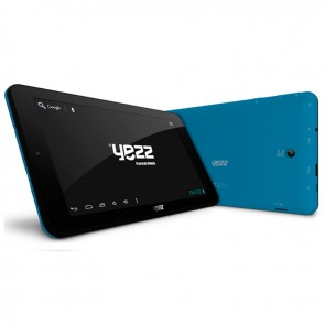 "Tablet Yezz Epic T7 Blue, Dual core, almacenamiento 16GB, Touch 7"", Android 4.2"