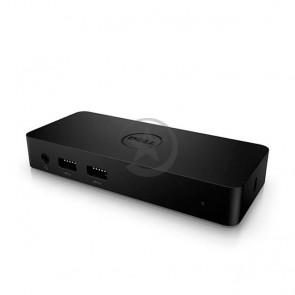 Dell Docking-Estación de acoplamiento USB 3.0 , Admite 2 pantallas, 3 puertos USB 3.0, Gigabit Ethernet .