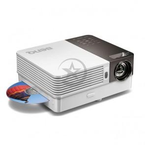Proyector portátil BenQ GP10 Ultra-Lite, 550 Lumenes, WXGA(1280 x 800), Altavoces 3W, WXGA + Consola lector de DVD+Adaptador WiFI