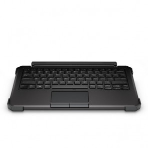Teclado con retroiluminacion RGB con soporte plegable para Tablet DELL Rugged 12