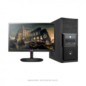 PC GRAPHICS Intel Core i5-6400 2.7GHz, RAM 8GB, HDD 1TB, T. Video 2GB, DVD, LED 20""