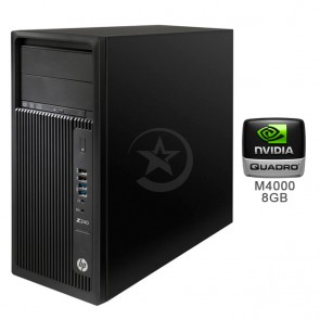 PC WorkStation HP Z240, Intel Core i7-6700 3.4GHz, RAM 64GB , HDD 2TB+SSD 512GB, Video 8GB Quadro M4000, DVD, Windows 10 Pro